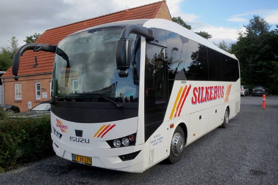 Silkebus 58/BT14129 i Silkeborg den 12. september 2017