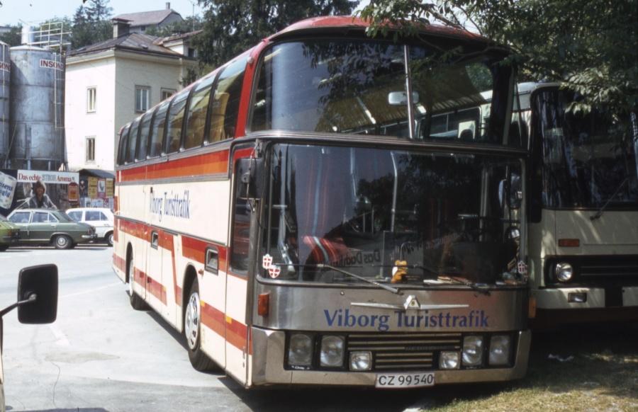 Viborg Turisttrafik CZ99540 i Salzburg i Østrig i juli 1983