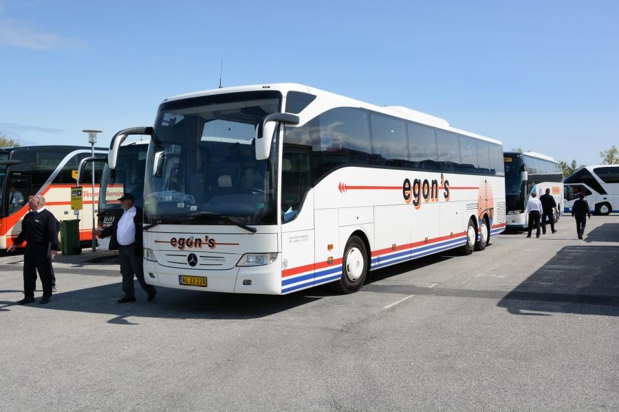 Egons Turist- og minibusser 192/AL23228 i Nyborg den 14. maj 2016