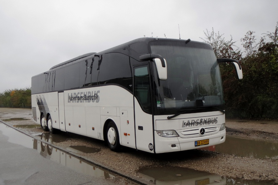 Københavns Bustrafik 89/BB22695 i København den 21. oktober 2017