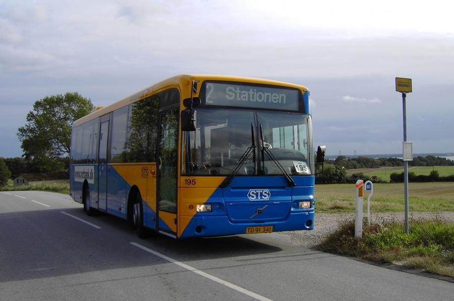 Østtrafik 195/TD91341 i Bakkebølle den 15. september 2005