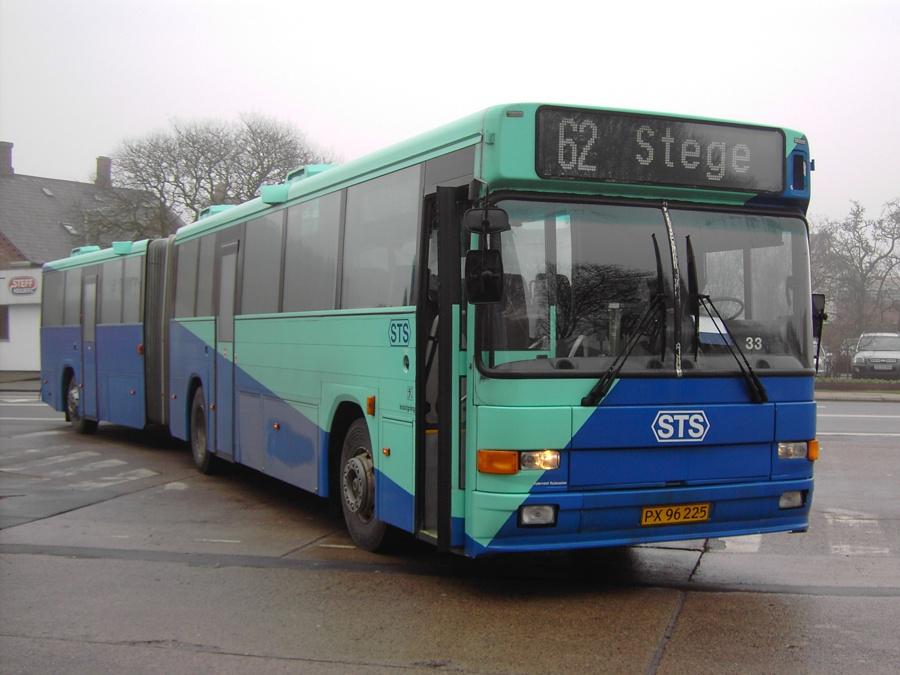 Veolia 3133/PX96225 i Vordingborg den 2. februar 2007