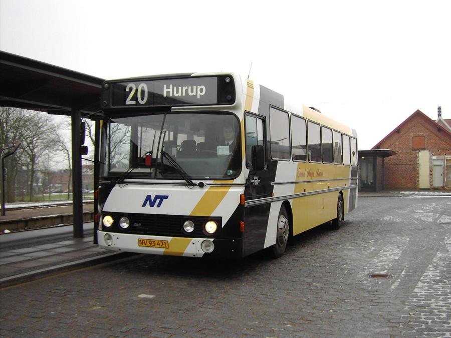 Svend Aages Busser 14/NV93471 ved Hurup Thy Station den 12. februar 2007