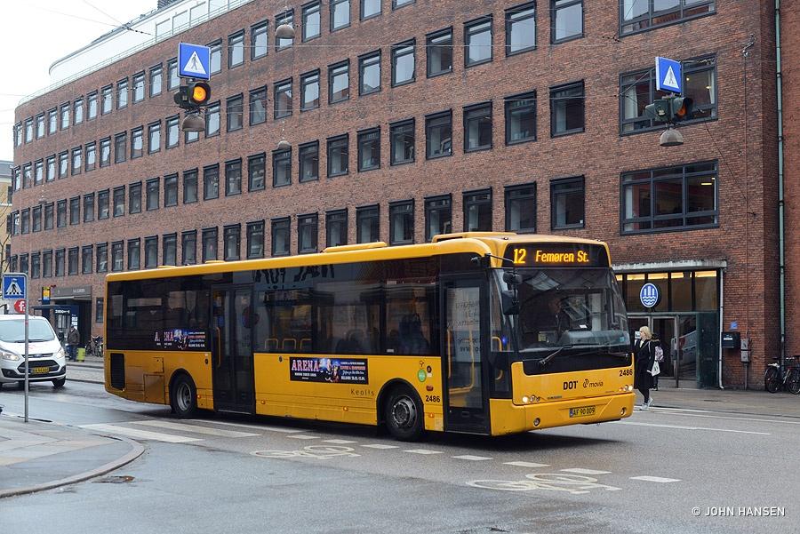Keolis 2486/AF90009 på Njalsgade i København den 27. marts 2018