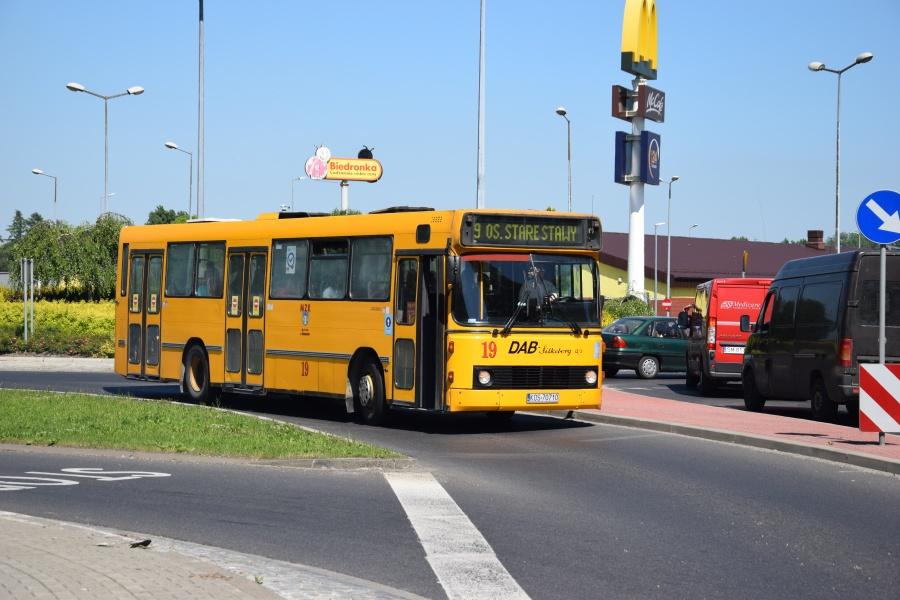 MZK Oswiecim 19/KOS70710 i Oswiecim i Polen den 28. maj 2018
