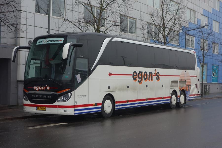 Egons Turist- og Minibusser 199/AP78594 på Vejle Trafikcenter den 8. marts 2018