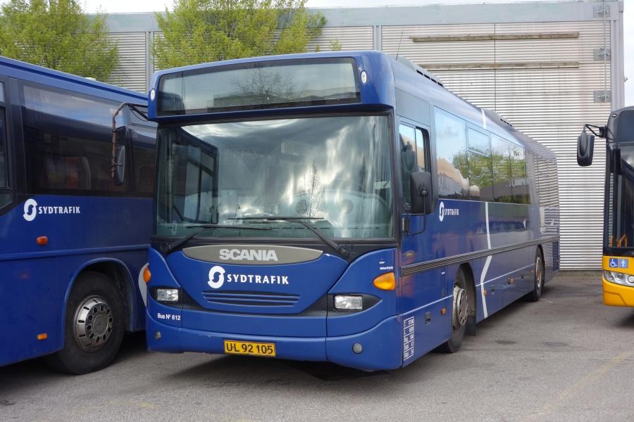 Umove 612/UL92105 på Gammelhavn i Vejle den 1. maj 2018