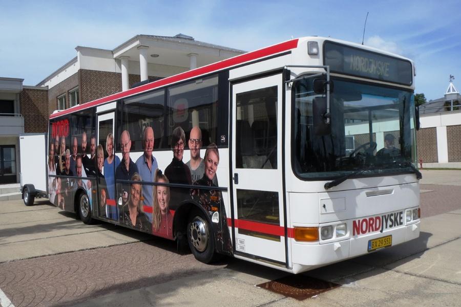 Nordjyske Medier BX29551 i Aalborg den 22. juni 2018