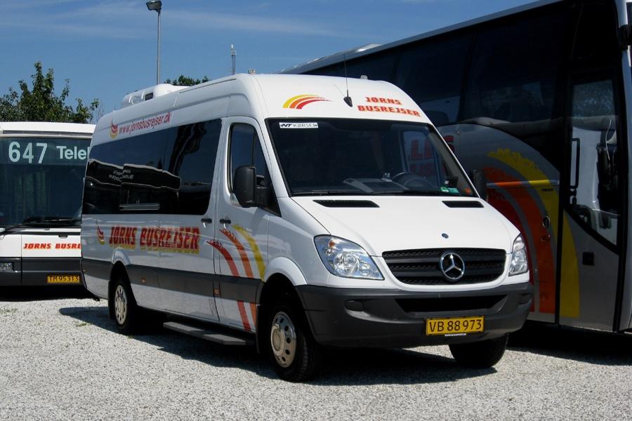 Jørns Busrejser VB88973 i Brønderslev den 29. juli 2008