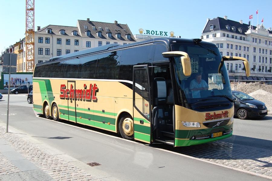 Schmidts Turisttrafik 4/BV55322 på Kgs. Nytorv i København den 19. juli 2018