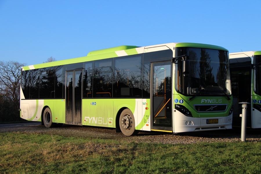 Tide Bus 8456/BT15217 i Middelfart den 21. januar 2018