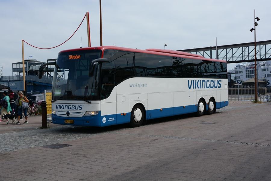 Vikingbus 555/BA33235 ved Helsingør Station den 15. juli 2018
