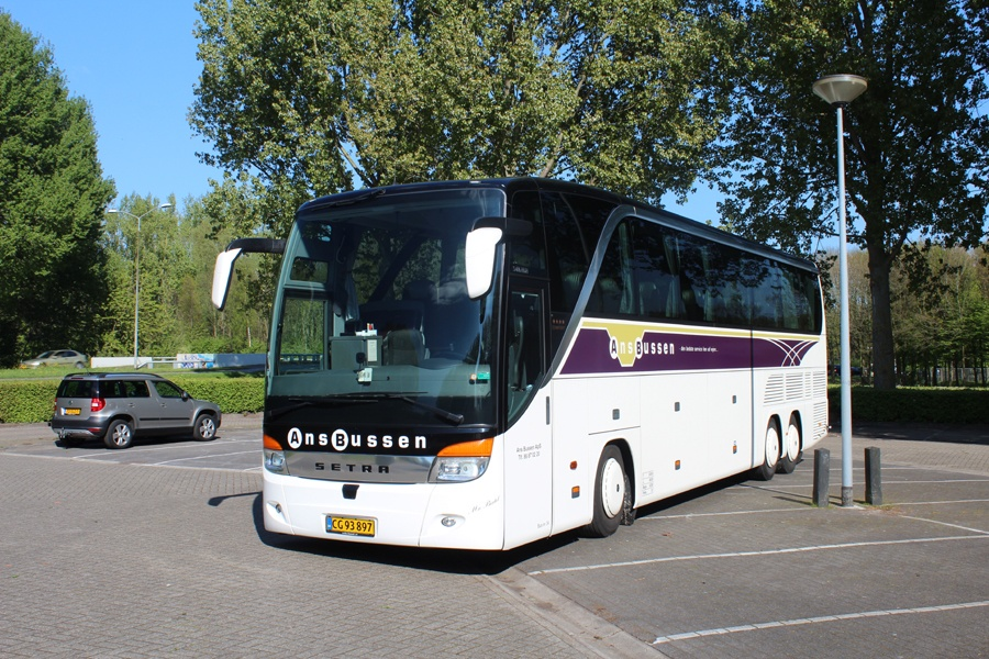 Ans Bussen 34/CG93897 i Holland den 19. april 2014
