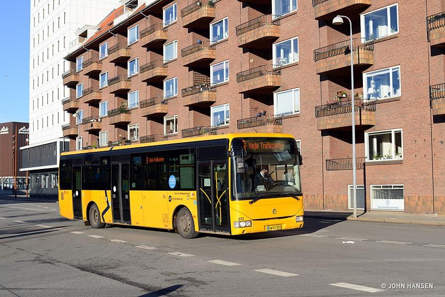 Umove 673/AW92855 på Gammelhavn i Vejle den 27. november 2016