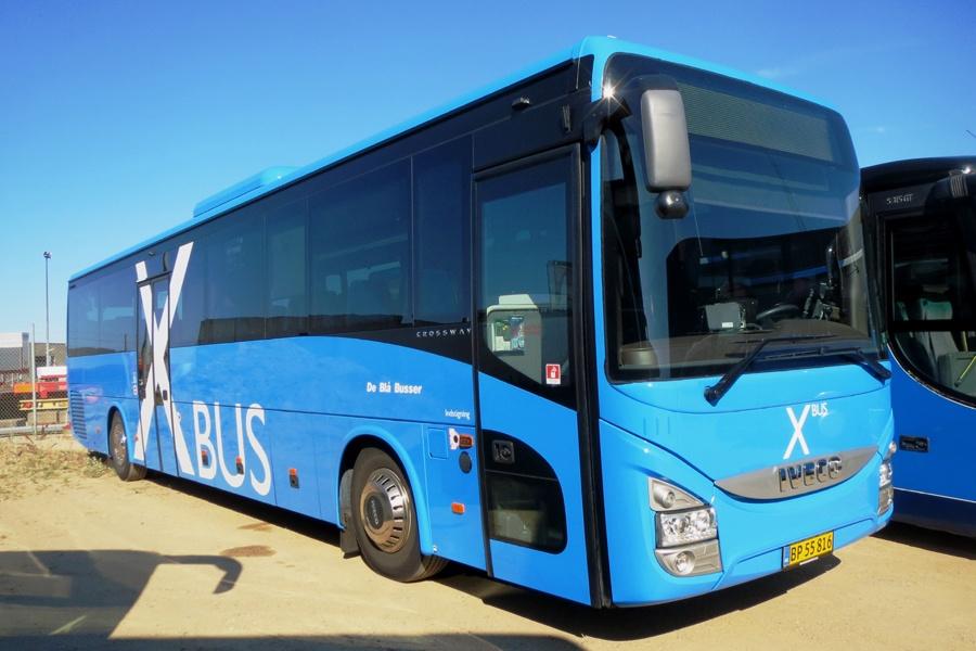 De Blå Busser 111/BP55816 i Esbjerg den 18. juli 2018