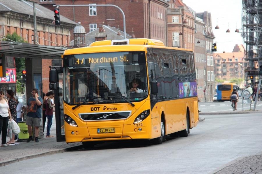 Arriva 1372/BV30738 ved Københavns Hovedbanegård den 24. juli 2018