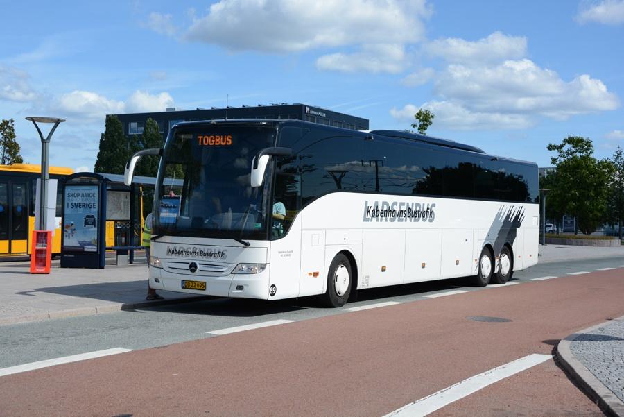 Københavns Bustrafik 89/BB22695 ved Herlev Station den 21. august 2018