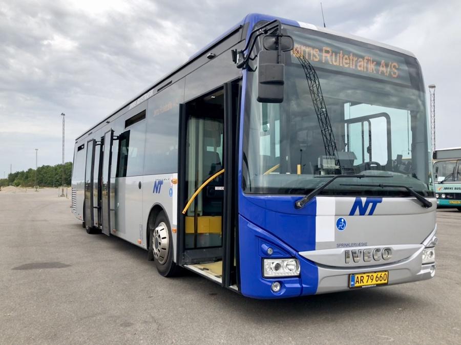 Jørns Rutetrafik AR79660 ved Frederikshavn Station den 8. august 2018