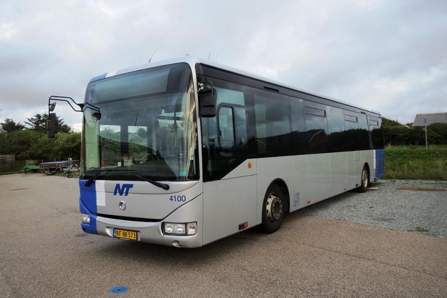 Arriva 4100/BF88573 i Hanstholm den 14. august 2018