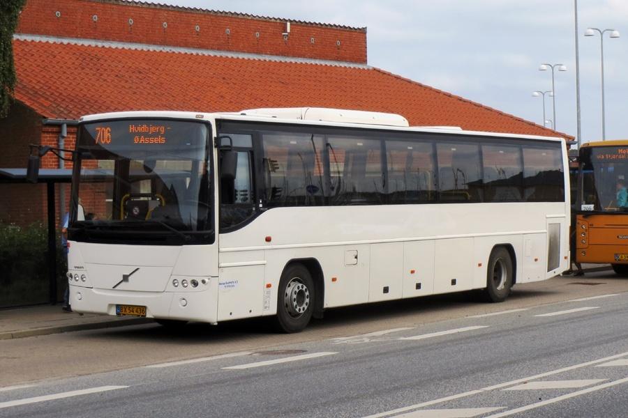 Morsø Bustrafik BX54436 i Nykøbing Mors den 3. september 2018