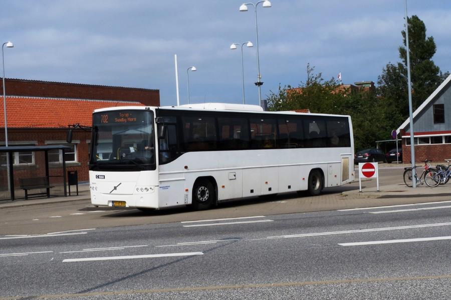 Morsø Bustrafik 68/CA40846 i Nykøbing Mors den 3. september 2018