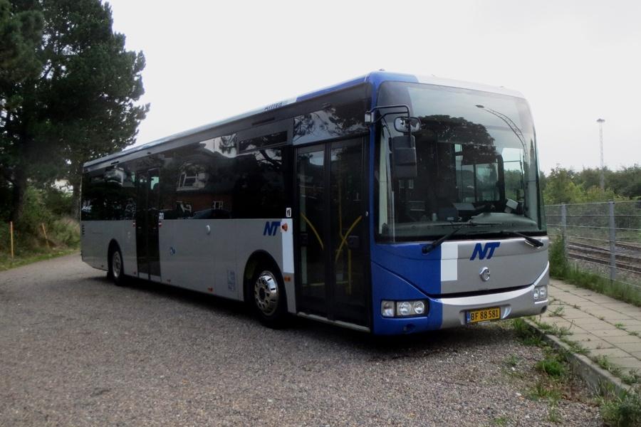 Arriva 4081/BF88581 i Thisted den 3. september 2018