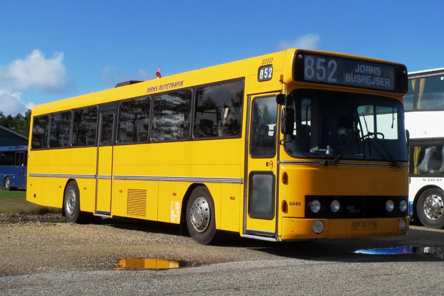 Jørns Rutetrafik 6449/OP90578 i Hjørring den 15. september 2018