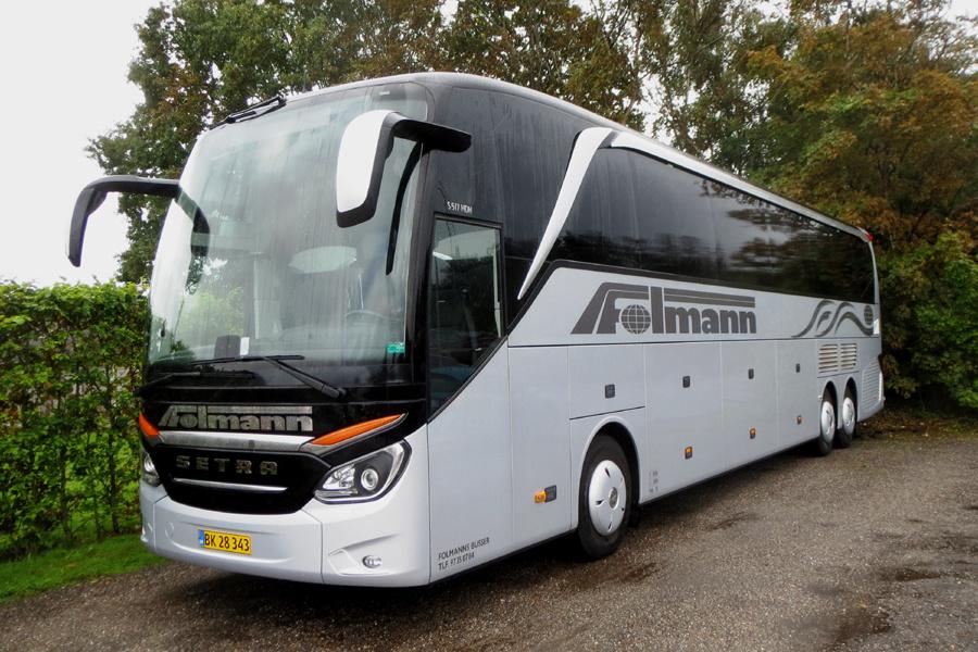 Folmanns Busser BK28343 i Skjern den 8. september 2018