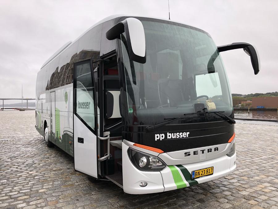 PP Busselskab BN23817 på Vejle Havn den 20. september 2018