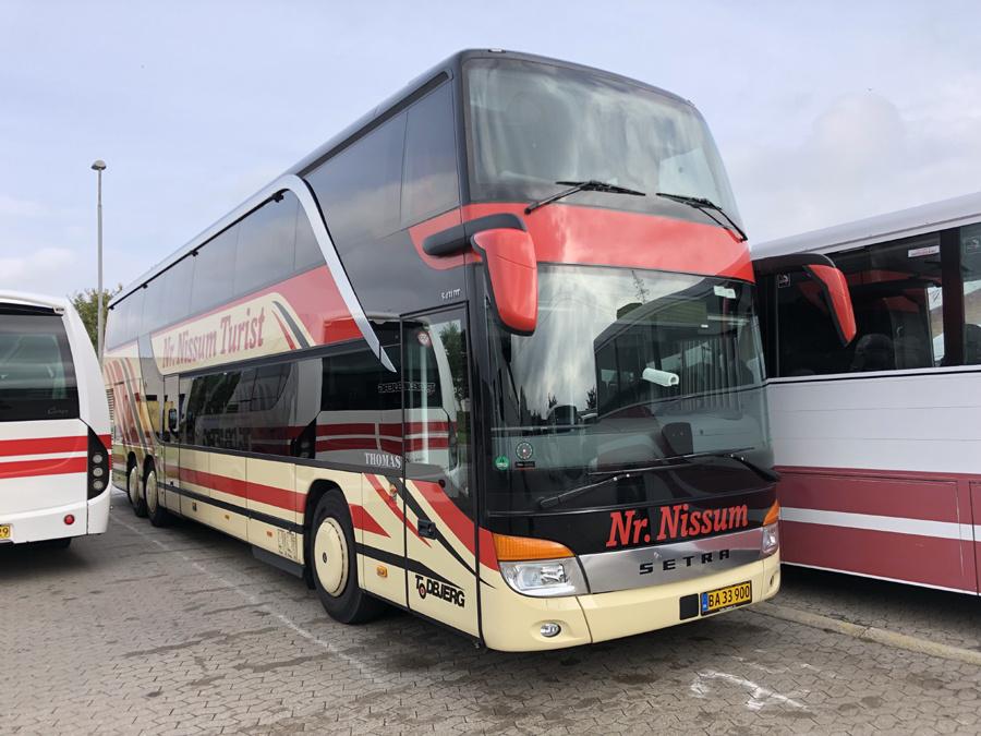 Todbjerg Busser 45/BA33900 på Sintrupvej i Brabrand den 5. oktober 2018