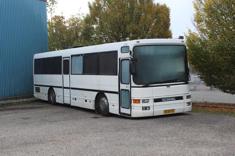 Østjydsk Mini- og Turistbusser XN89072 på Finlandsvej i Vejle den 28. oktober 2018