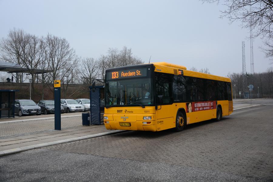 Arriva 1511/XD96118 ved Avedøre Station den 2. februar 2017