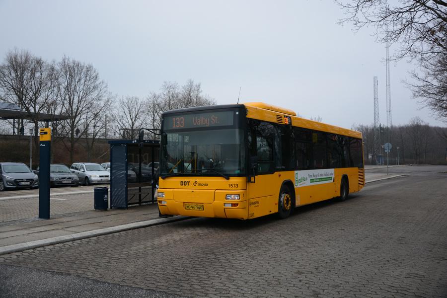 Arriva 1513/XD96140 ved Avedøre Station den 2. februar 2017