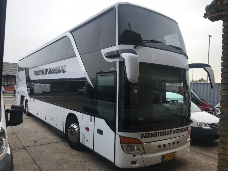 Fjerritslev Busserne CA39911 i garagen i Fjerritslev den 17. oktober 2018
