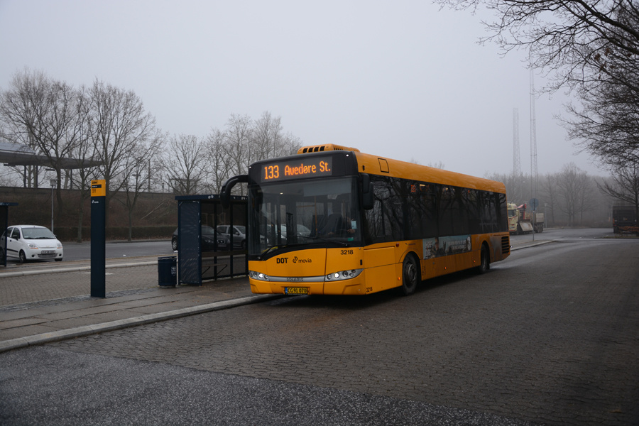 Anchersen 3218/CG91070 ved Avedøre Station den 29. januar 2017