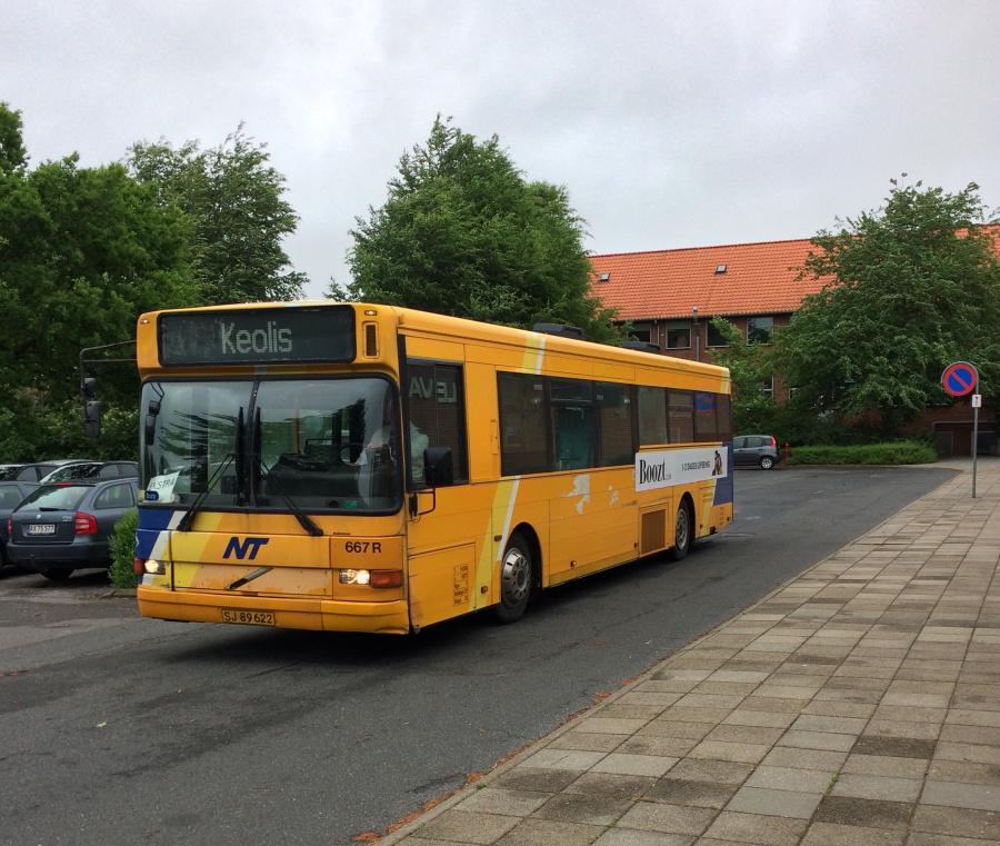 Keolis 667/SJ89622 ved Mellervangskolen i Aalborg den 31. maj 2017