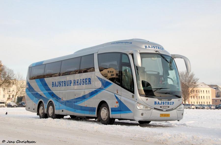 Bajstrup Rejser 8/TM88081 på Exe i Flensburg den 3. december 2010