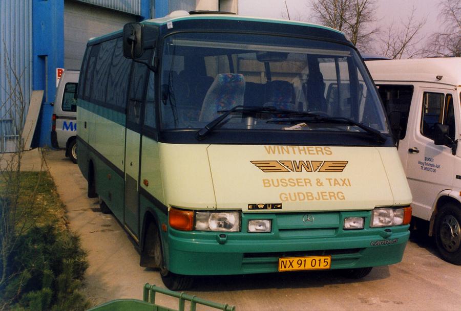 Winthers Busser og Taxi NX91015 ved Messecenter Herning i marts 2003