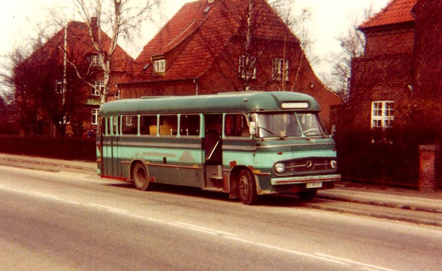 Malurt CX98831 på Kong Valdemars Vej i Roskilde i januar 1984