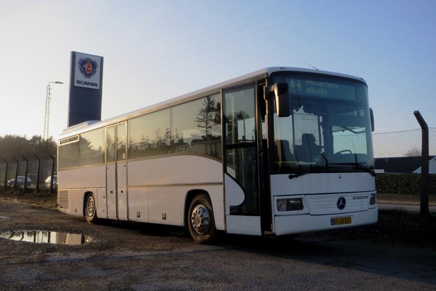 PP Busselskab BS20825 ved Stiholt i Hjørring den 16. november 2018
