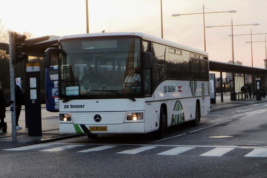PP Busselskab XS97434 på Rutebilstationen i Hjørring den 16. november 2018