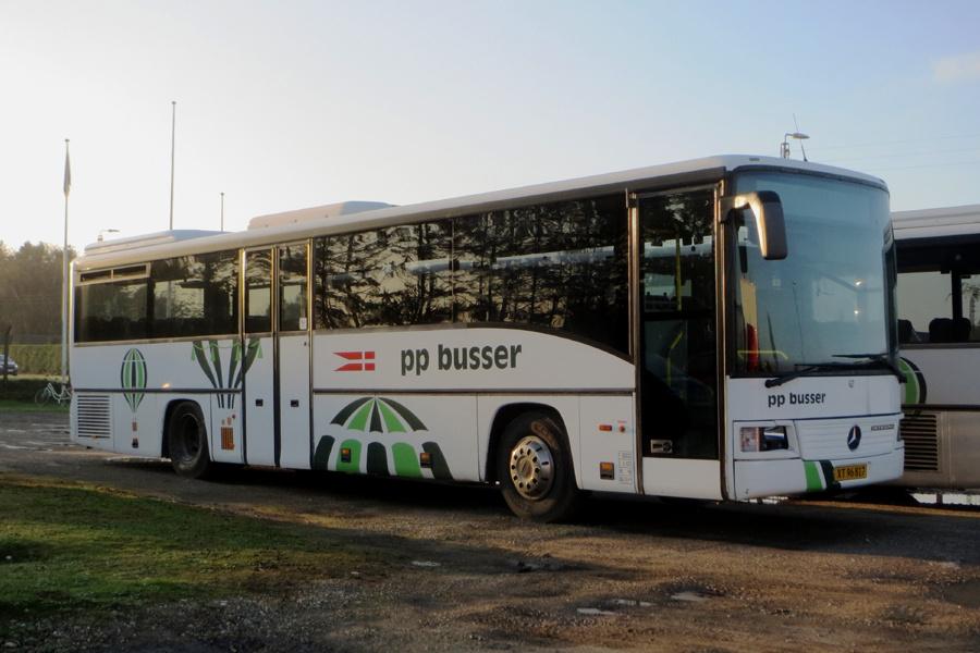PP Busselskab XT96817 ved Stiholt i Hjørring den 16. november 2018