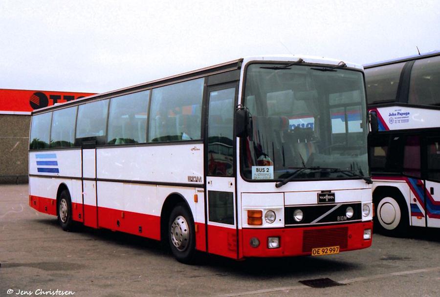 Saxager Rejser OE92997 i Harrislee i Tyskland den 23. juni 1996