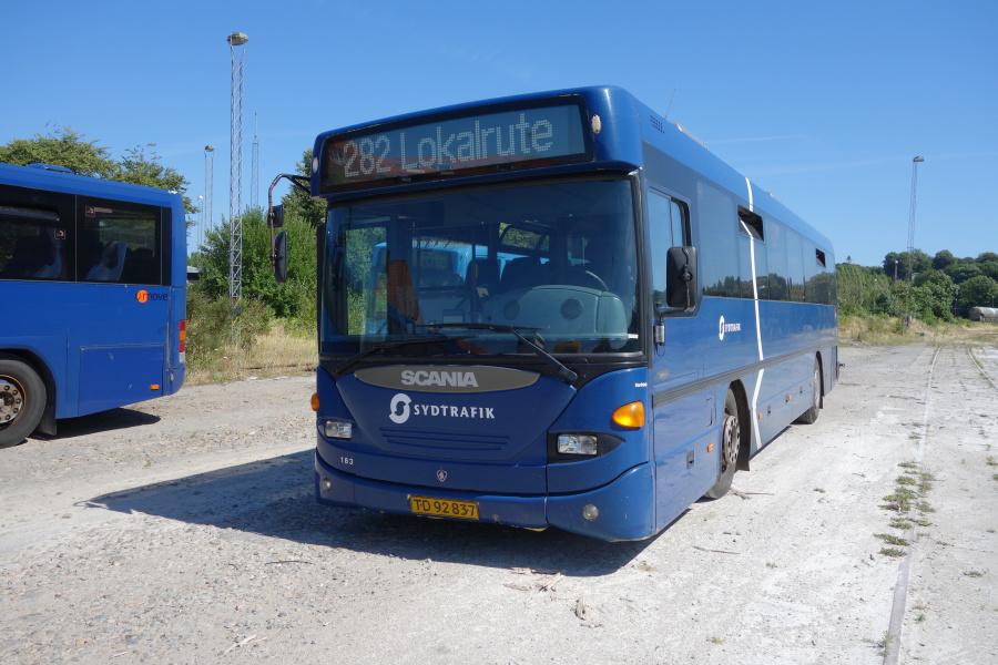 Umove 183/TD92837 på Gammelhavn i Vejle den 7. juli 2018