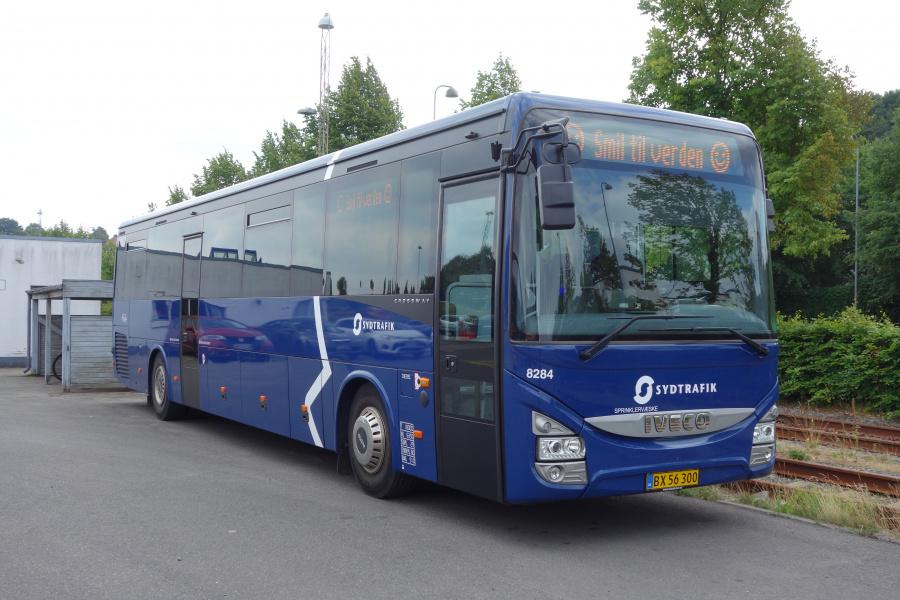 Tide Bus 8284/BX56300 på Gammelhavn i Vejle den 16. august 2018