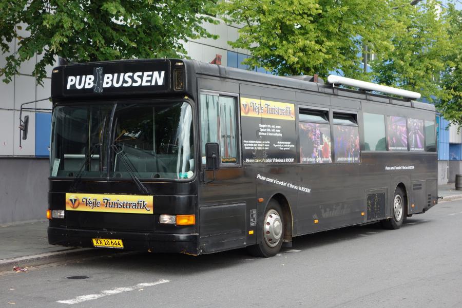 Vejle Turisttrafik 62/XX10644 på Vejle Trafikcenter den 18. august 2018
