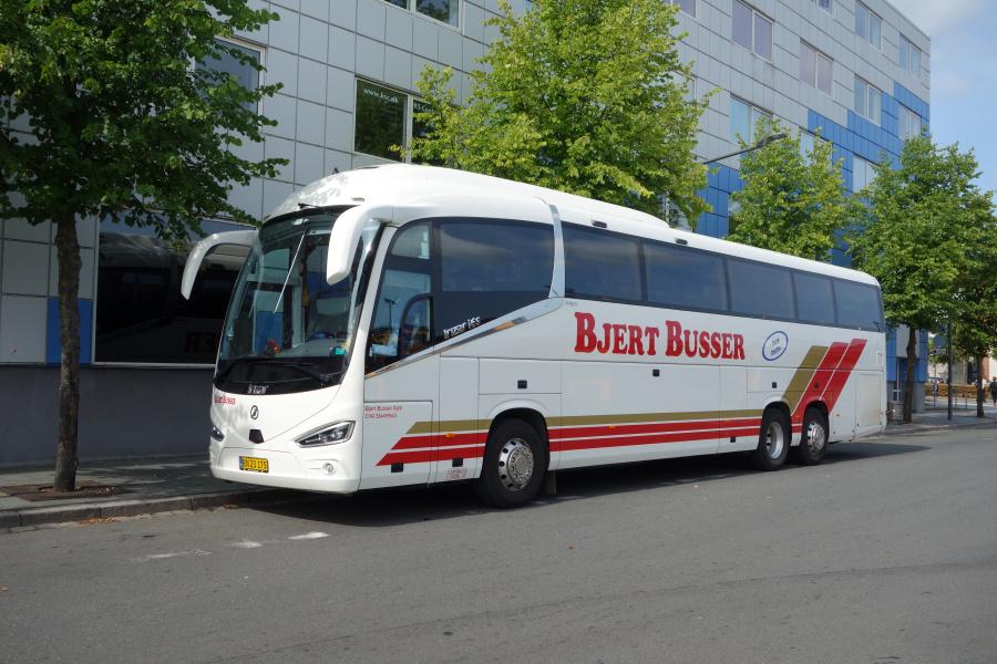 Bjert Busser BN23175 på Vejle Trafikcenter den 20. august 2018