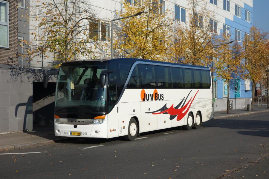 Jumbus BE97958 på Vejle Trafikcenter den 11. oktober 2018