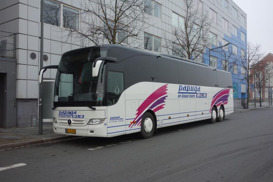 Papuga Bus 40/BK26493 på Vejle Trafikcenter den 7. november 2018