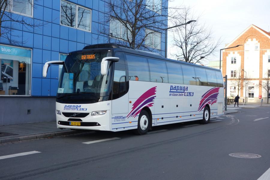 Papuga Bus 27/CA22427 på Vejle Trafikcenter den 15. november 2018